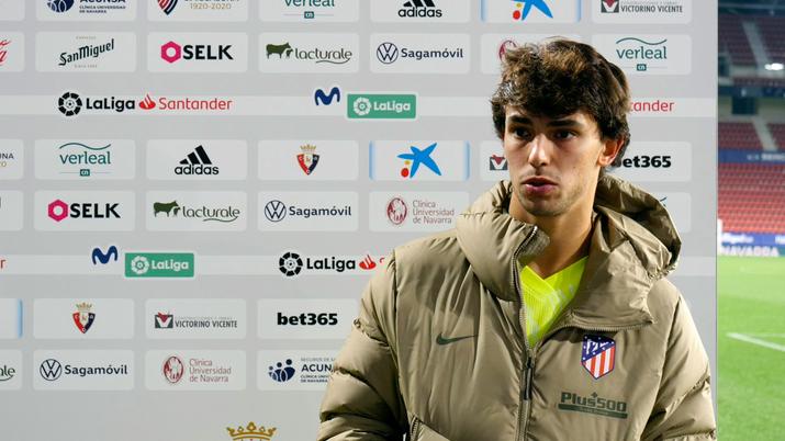 """Joao Félix: """"Estamos muy bien, queremos seguir así, con el compromiso de todo el equipo"""""""