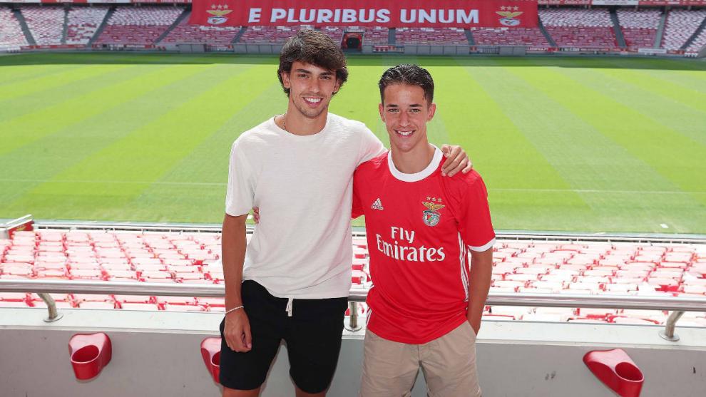 Hugo, hermano de Joao Félix, ya es profesional