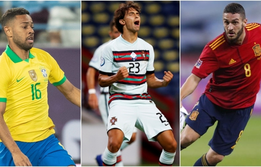 Koke, Joao Félix y Lodi, 'on fire' con sus selecciones antes de recibir al Barcelona