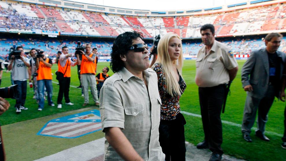 El día que Maradona fue un atlético más
