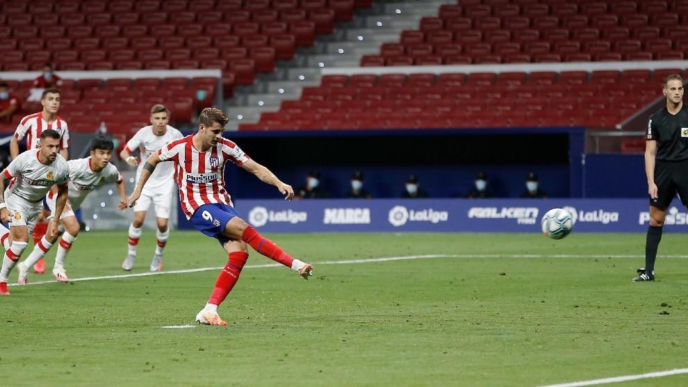 El Atlético en tregua con el punto de penalti