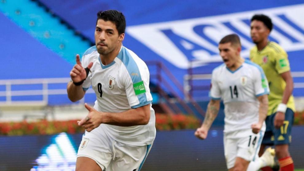 El Atlético Uruguay se sale ante Colombia