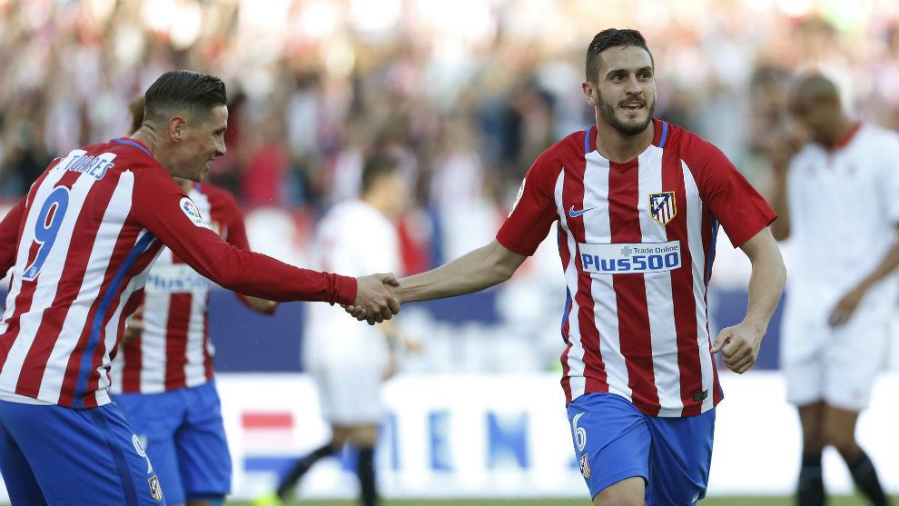 Koke supera a Fernando Torres como quinto atlético con más partidos en Liga