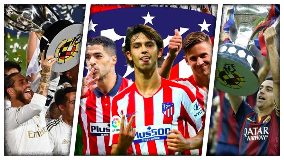 Este Atlético tiene números de campeón de Liga